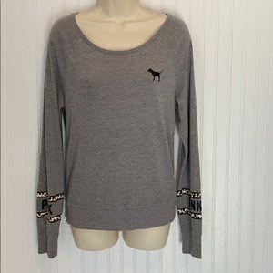 VS Pink Long Sleeve TShirt Size XS